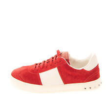 Rrp €560 Valentino Garavani Leather Sneaker Left Shoe Only Eu 41.5 Uk 7.5 Us 8.5