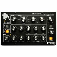 Moog Minitaur Analogue Bass Synth Synthesizer Sound Module With MIDI & USB