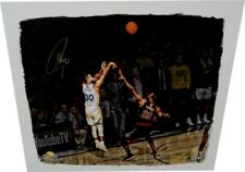 Stephen Curry Signed Autographed Big Canvas Stretched vs Lebron James/30 Steiner