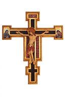 Crocifisso Cimabue, Crucifix Cimabue, Kruzifix Cimabue woodcarved,