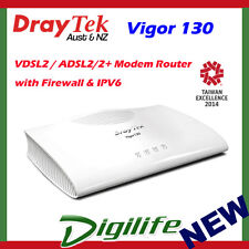 DrayTek Vigor130 VDSL2/ADSL2+ Modem Router with Firewall & IPV6 DV130