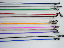 Head Strap Glasses Cord Elastic, Rubber Strap Adjustable, 12 Colour Variants