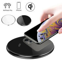 15W Qi Wireless Charger Pad Charging Dock For iPhone 12 Pro Max/12 mini/12 Pro
