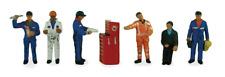 Scenecraft 36-051 Traction Maintenance Depot Workers (Pk6) Figures OO Gauge