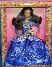Walmart Portrait in Blue AA Barbie 1997, MIB NRFB - 19356