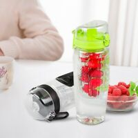 Fruit Infused Water Bottles BPA Free 32 oz Fruit Infuser Water Bottle