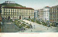 NAPOLI – Piazza Municipio e Castel S. Elmo – Naples – Italy