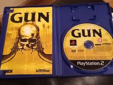 GUN  . PLAYSTATION 2  . Rare with manual .Lovely condition LOOKS UNUSED