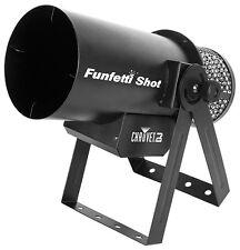 Chauvet Funfetti Shot Confetti Cannon DMX inc Wireless Remote