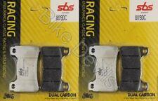 Honda CBR1000RR fireblade 2004-2016 Dual Carbon SBS Race Front brake pads 809DC
