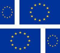 4 x Aufkleber Auto Sticker tuning motorrad Autoaufkleber Fahne Flagge europa