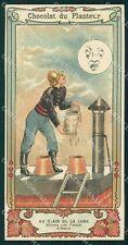 Vigili del Fuoco Firefighter Chocolate Advertising mini cartolina QT5310
