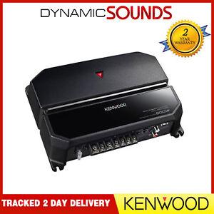 Kenwood KAC-PS702EX 500 Watts 2 Channel Bridgeable Car Mono Amplifier Amp