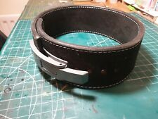 """Pioneer Fitness Powerlifting Lever Belt – 10mm thick – 4"""" wide - Small"""
