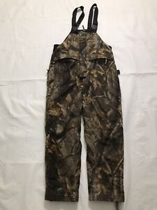 Red Head Overalls Hunting Bib Pants Youth Size Medium Camouflage Insulated