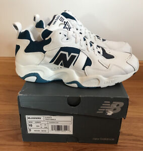 New Balance Ml650wvn White And Turquoise Casual Shoe