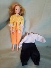 """Vintage 1973 Kenner 8.5"""" Jenny Jones Doll, Outfits may not be for this doll ¤"""