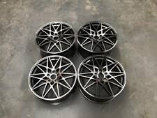 "20"" 666M Competition Style Wheels Gun Metal Machined M2 M3 M4 Fitment 5x120 BMW"