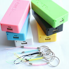 5600mAh 5V USB Power Bank Case 18650 Battery Charger DIY Box For Cell Phones