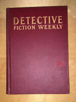 DETECTIVE Pulp Fiction Weekly Mag Hardcover Vol CXXX Rare Jul 29-Sep 2 1939