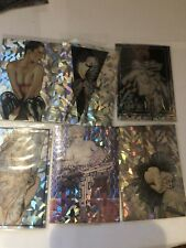 RARE OLIVIA 1 1992 COMIC IMAGES COMPLETE PRISM INSERT CARD SET P1 TO P6