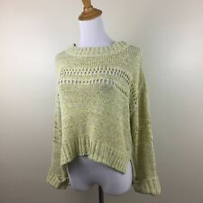 Adolfo Dominguez Womens S Small Multi Color Long Sleeve Knit Sweater B9