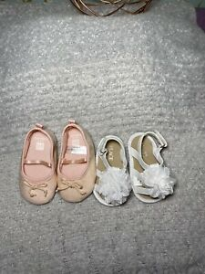 Baby Girl Shoes Size 6-12 months Dressy