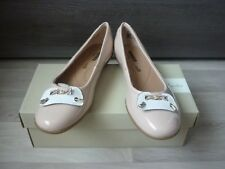 CLARKS - Klassischer Ballerina - Gracelin Blu - Neu & Karton - Grösse : 40