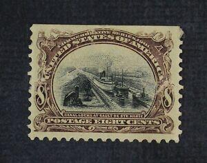 CKStamps: US Stamps Collection Scott#298 8c Mint H OG Gum Disturb