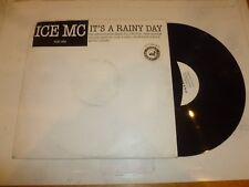 "ICE MC - It's a rainy day - UK 8-track Double 12"" vinyl single - DJ Promo"