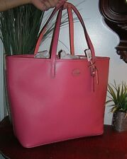 COACH Coach Metro Coral Leather Large Tote,Travel,Weekender Bag,Purse new