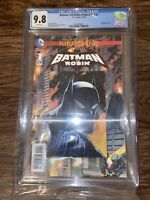 Batman And Robin: The New 52 Futures End #1 DC Comic CGC 9.8 3D Lenticular Cover