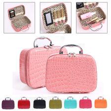Crocodile Pattern Large Capacity Portable Cosmetic Bag