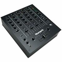 Numark M6 USB - 4-Channel DJ Mixer with On-Board Audio Interface, 3-Band EQ,