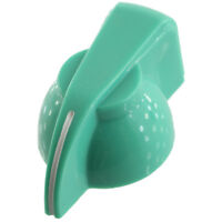 """Chicken head pointer amp knob set screw 1/4"""" - green"""