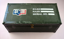 GI JOE 1970'S PLASTIC FOOTLOCKER- HASBRO