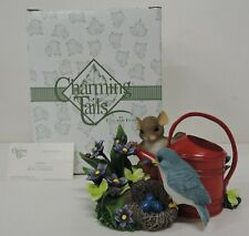 Fitz And Floyd Charming Tails Expecting A Miracle Figurine 89/185