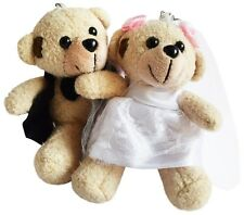 FLOWER GIRL GIFTS - WEDDING GIFTS BRIDE AND GROOM TEDDY BEARS - WEDDING FAVORS