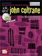 Lignes de jazz essentiel: EB dans le style de John Coltrane