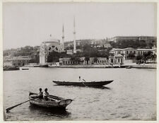 c.1890's PHOTO  - TURKEY DOLMABACHE MOSQUE CONSTANTINOPLE - ABDULLAH