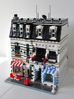 Modular Bakery/Fishmonger Bauanleitung für LEGO (passt zu 10197 10211 10224)