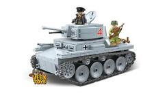 World War Ii Building Blocks German Panzer Lt-38 Light Tank Unit Army Military D