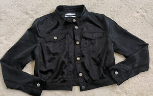 UO URBAN OUTFITTERS womens small black crop jacket S club party