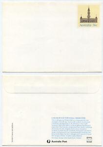 52489 - Australien - Ganzsache - Umschlag - Collingwood Town Hall, Melbourne