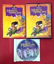 El jorobado de Notre Dame DVD - Walt Disney - USADO - BUEN ESTADO