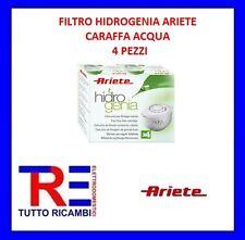 CARTUCCIA FILTRO HIDROGENIA CARAFFA ACQUA ARIETE 4 PEZZI 00C730010AR0
