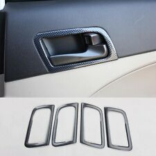 ABS carbon fiber auto Interior door handle trim 4pcs For Kia K5 Optima 2011-2015
