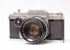 Konica/Revue auto-reflex + Hexanon 52mm 1:1 .8 cámara nº 1372