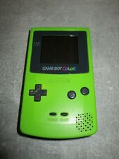 Nintendo Game Boy Color, Spielekonsole, Kiwi / Grün, CGB-001, Top