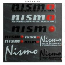 10pcs (Set) NISMO Reflective Car Door Window Vinyl Decal Sticker For NISSAN